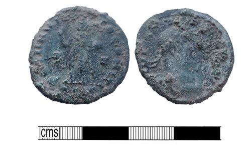 PUBLIC-5D02F9: Roman Bronze Coin