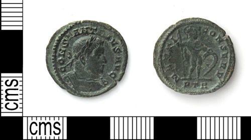 DUR-34A7B4: DUR-34A7B4 nummus of Constantine I