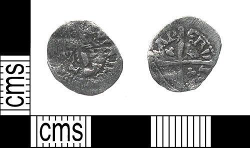 DUR-46C985: DUR-46C985: medieval halfpenny