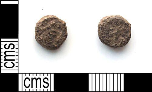 DUR-DA11D2: Roman coin: barbarous radiate