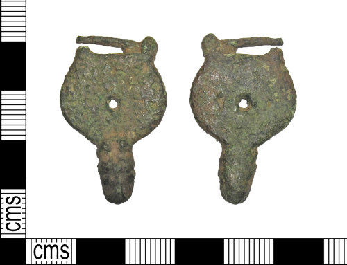 DUR-79F4A1: Early medieval strap end