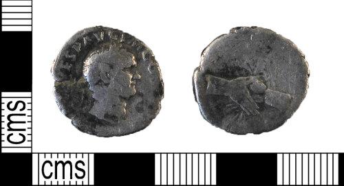 DUR-E44530: Denarius of Vespasian