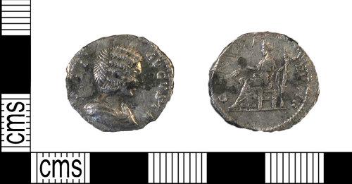 DUR-E4D0EC: Denarius of Julia Domna