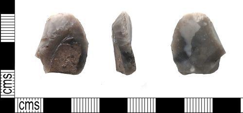 PUBLIC-E75012: Mesolithic scraper