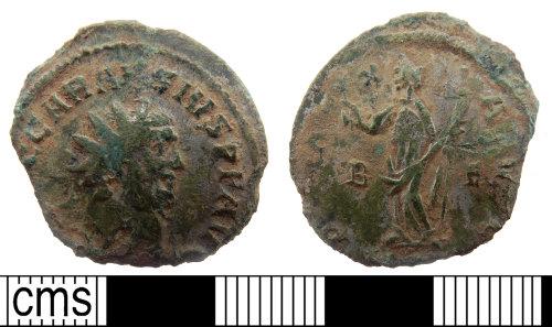 PUBLIC-35ED46: Roman coin; copper-alloy radiate of Carausius