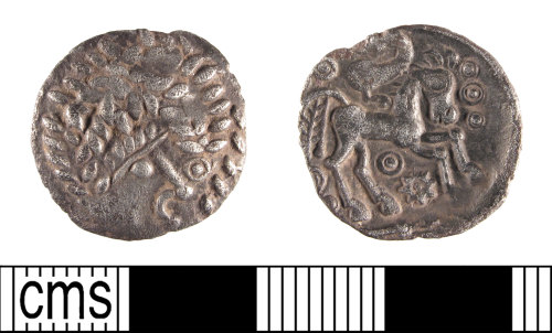 SUSS-7BD099: Iron Age coin: uninscribed silver unit struck for the Southern region