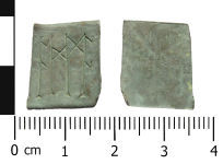 A resized image of Early Medieval Christian Amulet
