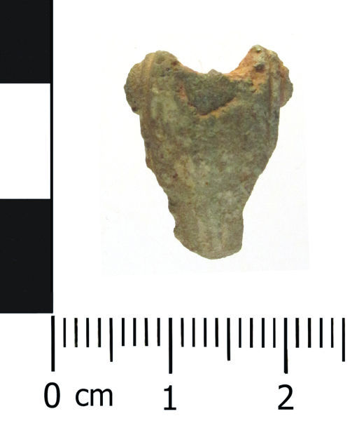 WAW-130B75: Roman brooch: Polden Hill type (plan).