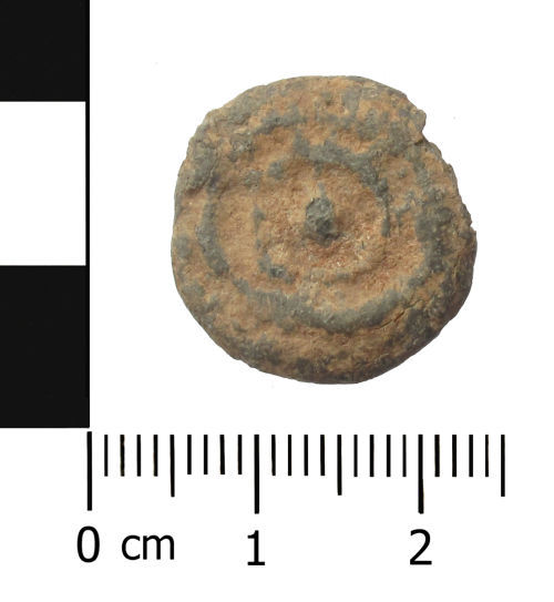 WAW-256854: Post Medieval lead token.