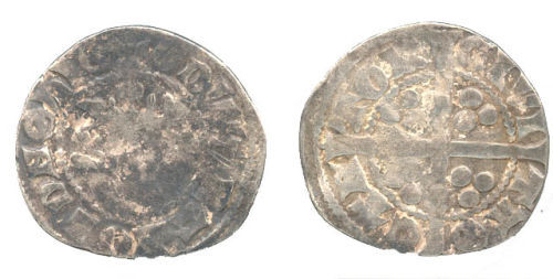 WAW-307E83: Obverse and reverse of an Edward I penny.