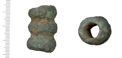 WAW-638218: Iron Age cylinder, unidentified object (profile and plan)
