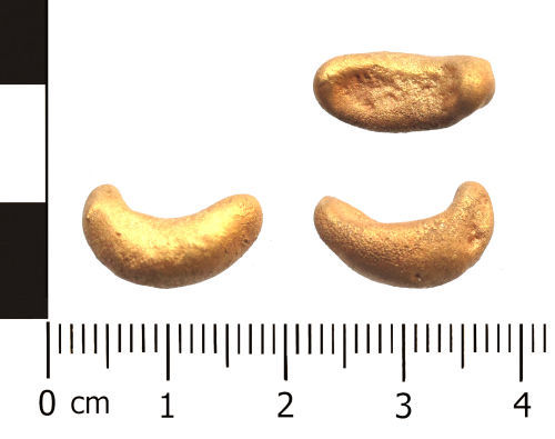 WAW-A26918: Casting waste: gold, unknown date.