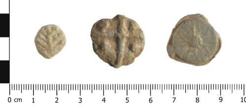 WAW-37C8AD: Post Medieval lead tokens (plan).
