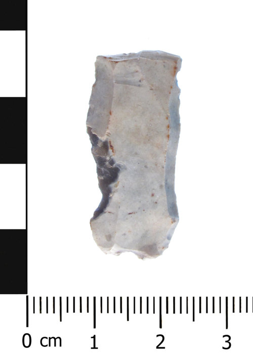 WAW-56C694: Mesolithic to Neolithic blade (plan).