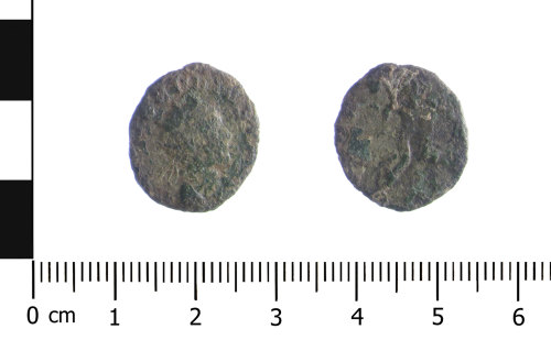 WAW-77EDCA: Roman coin: radiate of Claudius II (Obverse and reverse).
