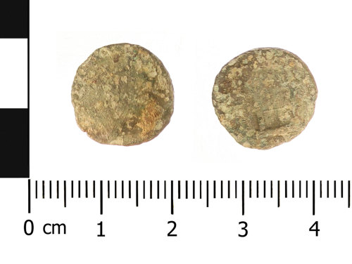 WAW-A11CB7: Roman coin: radiate of Claudius II (obverse and reverse)