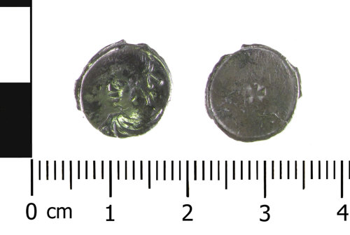 WAW-BB6DC7: Early Medieval coin: Eadgar, Edward the Martyr or Æthelred II (Obverse and reverse).