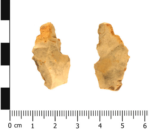 WAW-F17328: Neolithic debitage (plan).