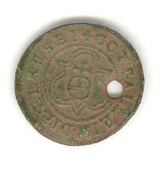 WMID4682: Post medieval jetton obverse