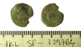 A resized image of Iron Age unit, Trinovantes, possibly Tasciovanus