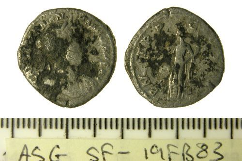 SF-19FB83: Roman denarius of Hadrian