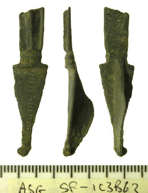 SF-1C3B63: Roman Hod Hill brooch
