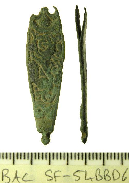 SF-54BBD6: Anglo-Saxon strap end