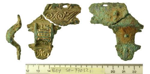 SF-770321: Anglo-Saxon equal armed brooch