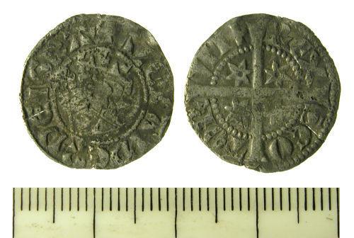 SF-ECECA3: Medieval Scottish Penny of Alexander III