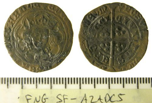 SF-A2ADC5: Groat of Edward IV