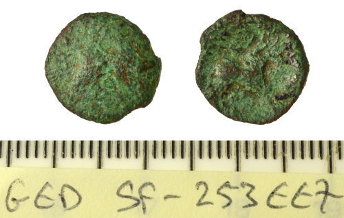 SF-253EE7: Iron Age copper-alloy coin