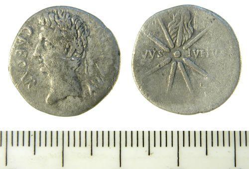 SF-C89194: Roman Denarius of Augustus