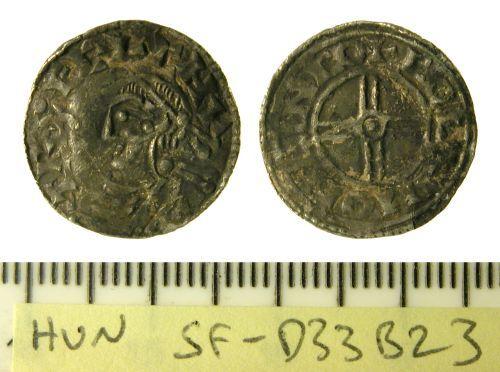 SF-D33B23: Penny of Cnut