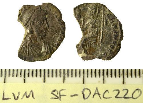 SF-DAC220: Roman coin: siliqua of Constantine III