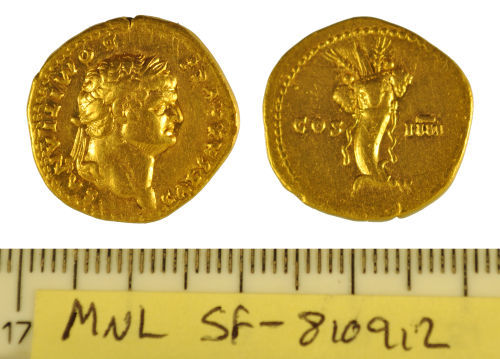 SF-810912: Roman aureus of Domitian