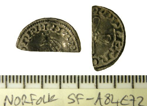SF-A84E72: Cut Halfpenny of Harold I