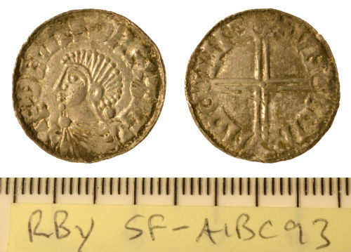 SF-A1BC93: Early-Medieval penny Aethelred II