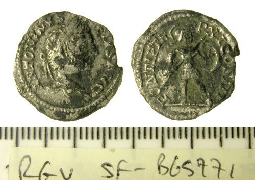 SF-B65771: Roman denarius of Caracalla
