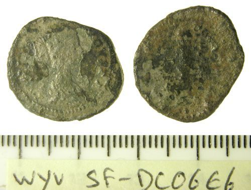 SF-DC06E6: Roman denarius of Julia Domna