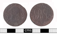A resized image of Post-medieval token: Conder token