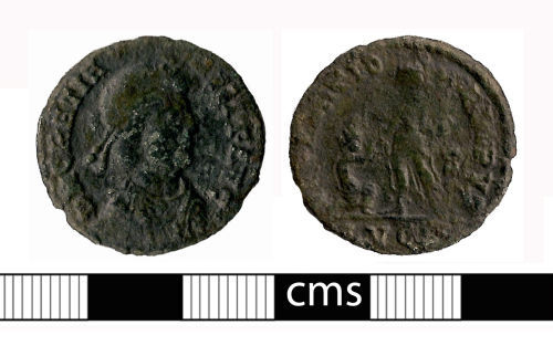 BERK-C27936: Roman coin: Nummus of Gratian