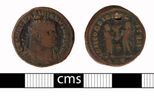 BERK-6A6654: Roman coin: Antoninianus of Galerius