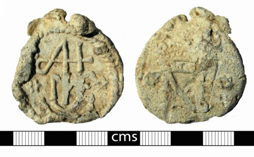 BERK-738912: Post-medieval seal: Bag seal from the Continent