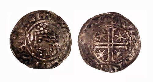 BERK-CBF286: Medieval coin: Penny of William I of Scotland