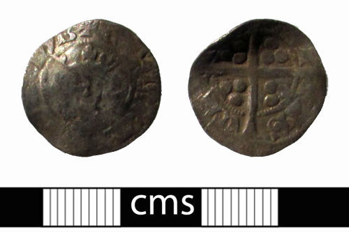 BERK-81FF27: Medieval coin: Penny of Edward I