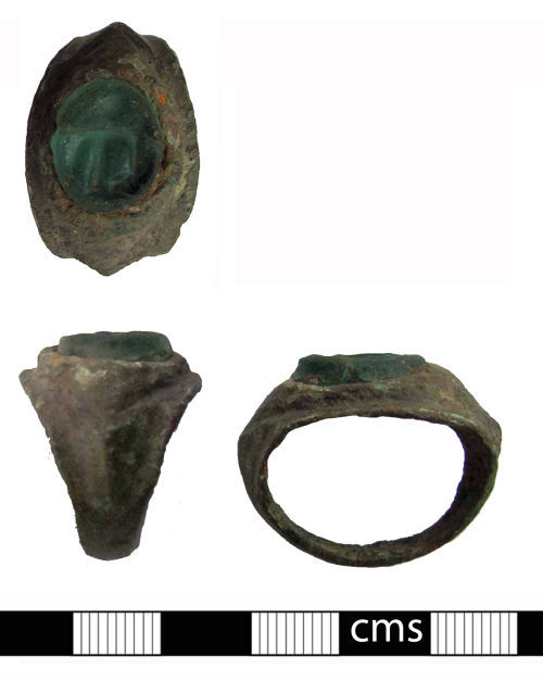 BERK-D50012: Roman finger ring: Finger ring and intaglio