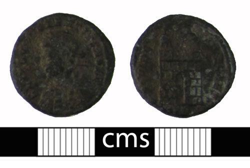 BERK-C0CD67: Roman coin: Nummus of Constantius II