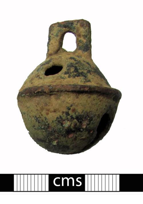 BERK-12B528: Post-medieval Crotal: Crotal bell