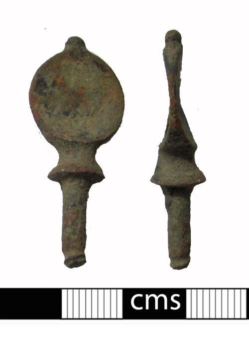 BERK-170986: Post-medieval screw: Thumb screw