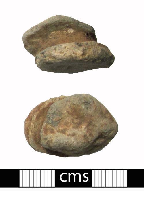 BERK-16E382: Medieval vessel: Pot mend